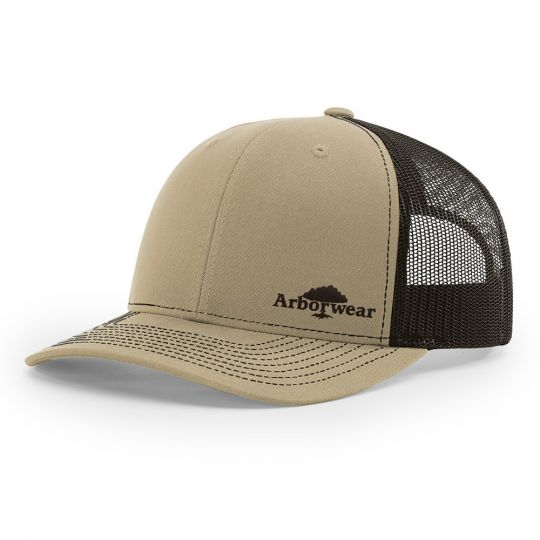 Arbor Wear Trucker Embroidered Logo Cap