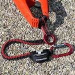 Teufelberger AntiSHOCK Chainsaw Lanyard with Carabiner